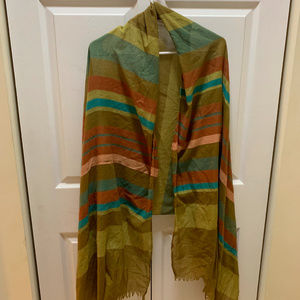 Multi-color scarf from bcbgeneration